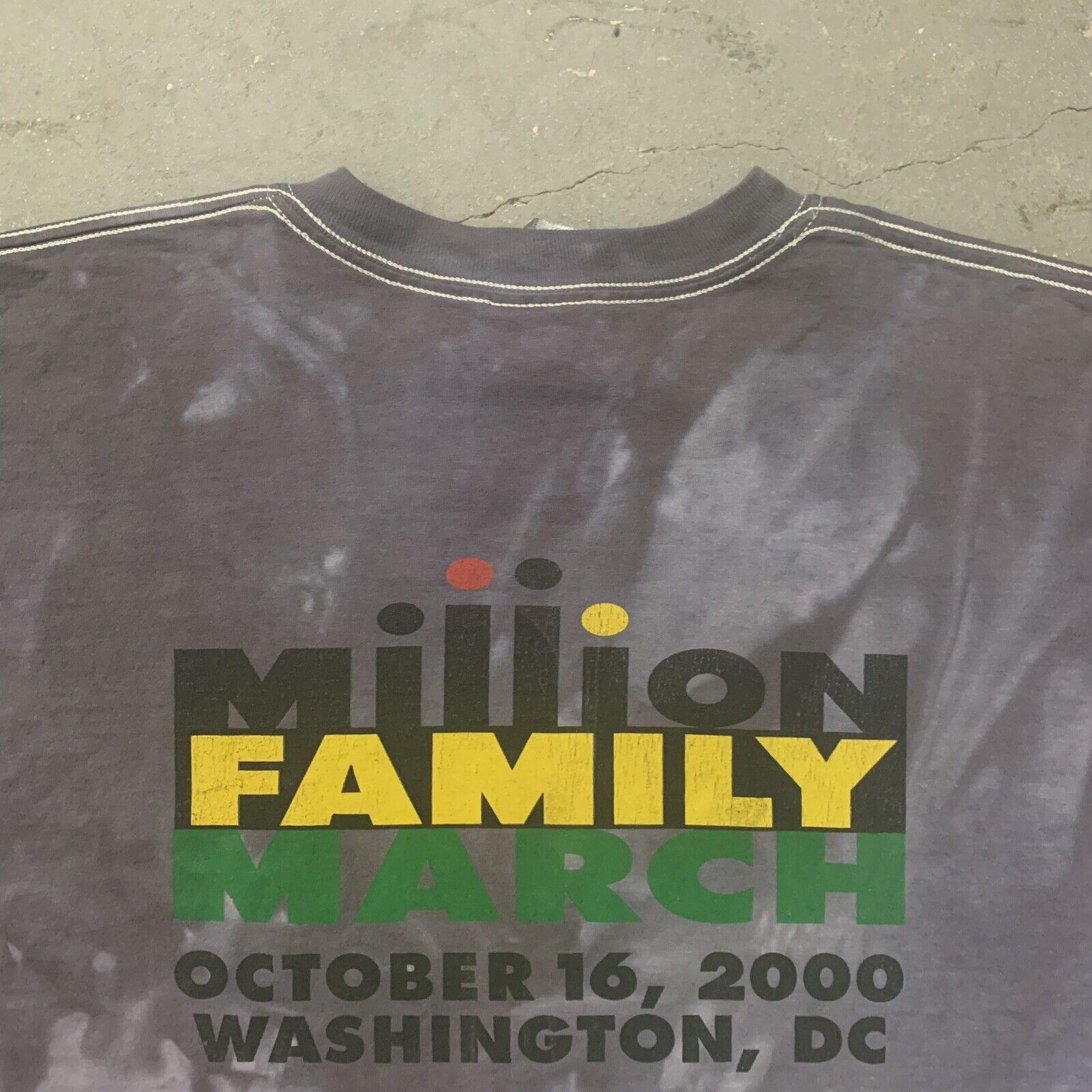 Tie Dye Million Family March Vintage Y2K 00's T-s… - image 4