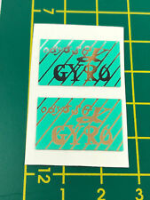ODYSSEY GYRO CABLE DECALS Choice 3 colors sale is for 1 Pair