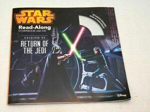 Star Wars Read Along Story Book CD Disc Return Of The Jedi Luke Skywalker Knight