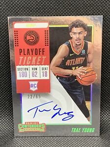 2018-Panini-Contenders-Trae-Young-65-Playoff-Ticket