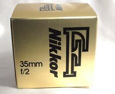 NIKON Nikkor F 35mm f/2 f2.0 Ai-S Lens Empty Box (only) with foam insert 5403019