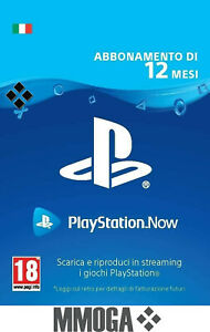 PLAYSTATION-NOW-Abbonamento-12-Mesi-Sony-PS4-Download-Codice-Italiano-Conto