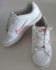 instante limpiar dominar  Nike Court Tradition II 316751-111 Blanco Rojo para Mujer Niña Talla Reino  Unido 4 EUR 36.5 en muy buena condición | eBay