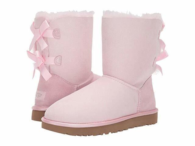 UGG Seashell Pink Bailey Bow II