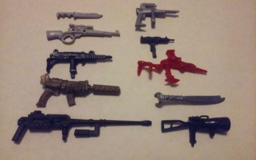 Vous Choisissez 4.00 $ chacun GI JOE armes 1982-2003