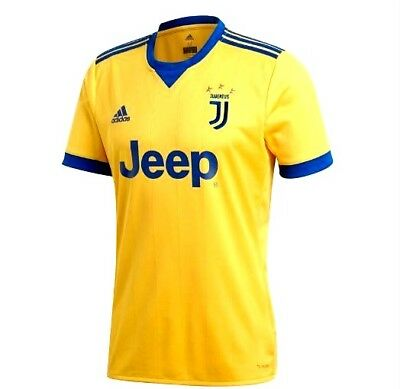 best sneakers 8af0d 5398a Adidas Juventus Away Replica Soccer Jersey Gold / Royal Size ...