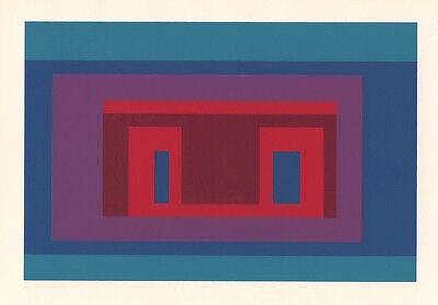 Josef Albers silkscreen, 1968