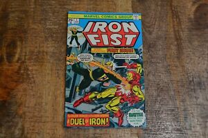 Iron-Fist-1-Iron-Man-appearance-Marvel-Comics-November-1975-FN-VF-7-0