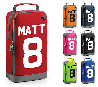 PERSONALISED GIRLS RUGBY BOOT BAG KIDS PLAYER SPORTS SCHOOL PE KIT GYM GIFT