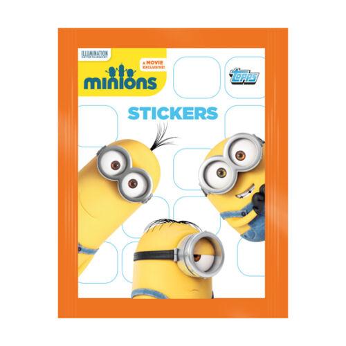 Topps Minions Sticker Pack Box of 20 Packs