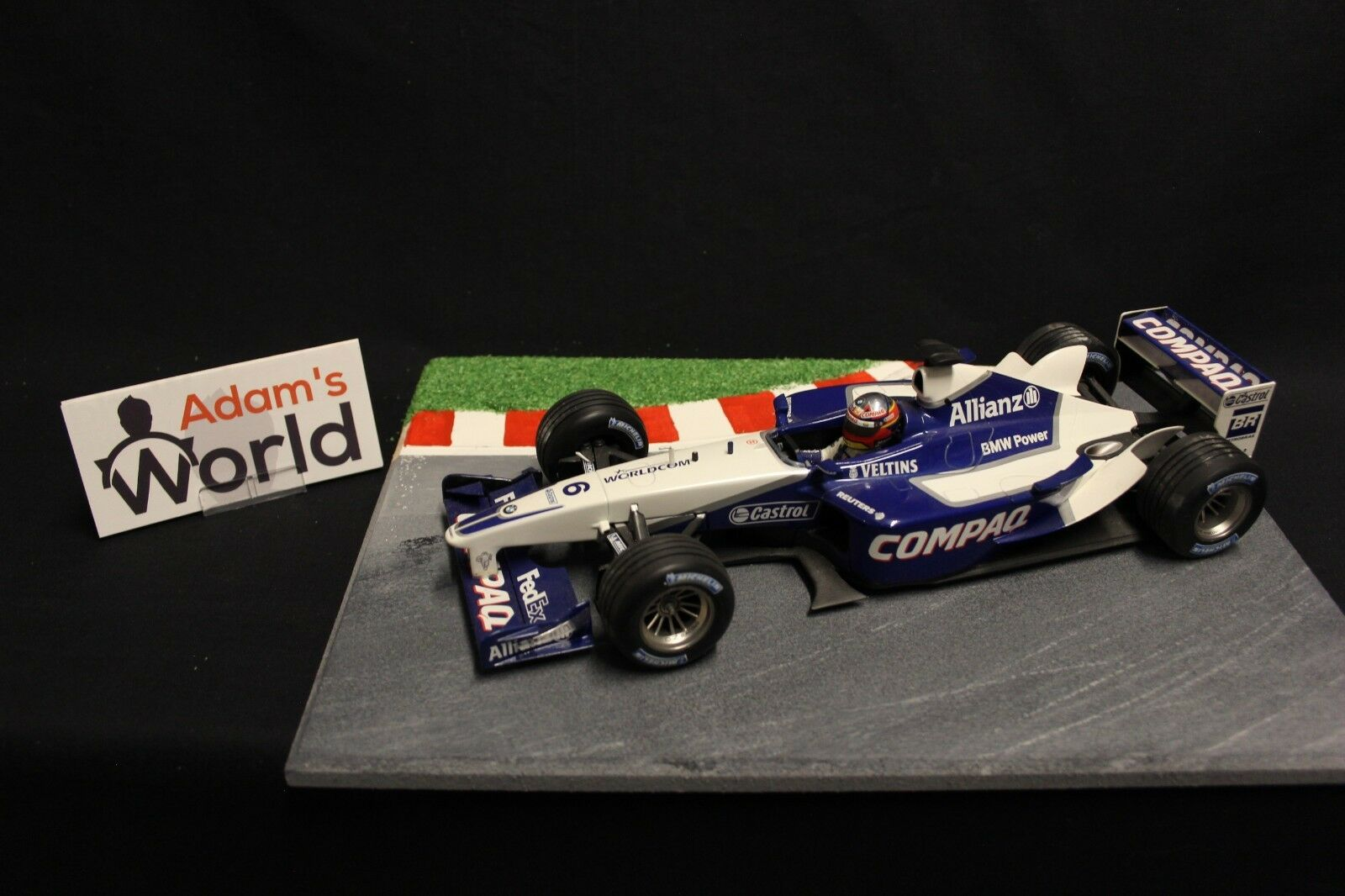 Minichamps Williams BMW FW24 2002 1 18 Juan Pablo Montoya (COL) (F1NB)