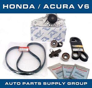 Honda/Acura V6 OEM Timing Belt & Water Pump Kit Factory Parts ...