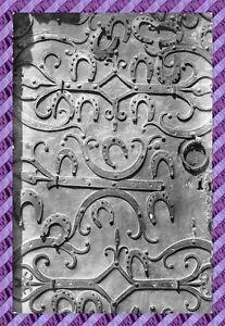 TARJETA-POSTAL-89-CHABLIS-Detail-de-la-puerta-de-la-iglesia-St-Martin