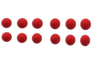 E-Deals-70mm-Soft-Foam-Sponge-Balls-Pack-of-12-Red