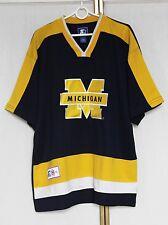 Vintage 90s Starter Michigan Wolverines NCAA College Jersey Shirt M