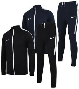 fced7e3eb4f6 Nike Mens Dry Academy Dri-Fit Polyester Warm Up Full Tracksuit ...