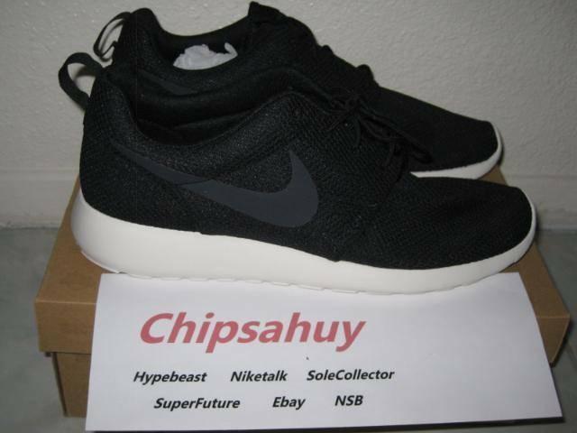 Nike para correr roshe uno Negro blancoo apagado Malla Vela Zapato Raiders og Nuevo Ds Talla 9.5