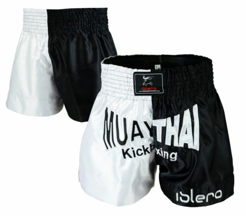 ISLERO Muay Thai MMA Kick Boxing Fight Shorts Grappling Martial Arts Gear UFC
