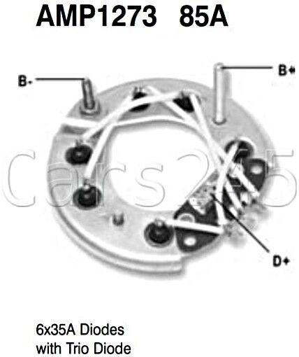 Alternator Diode Bridge Rectifier Diodes X6 35a Amp1273