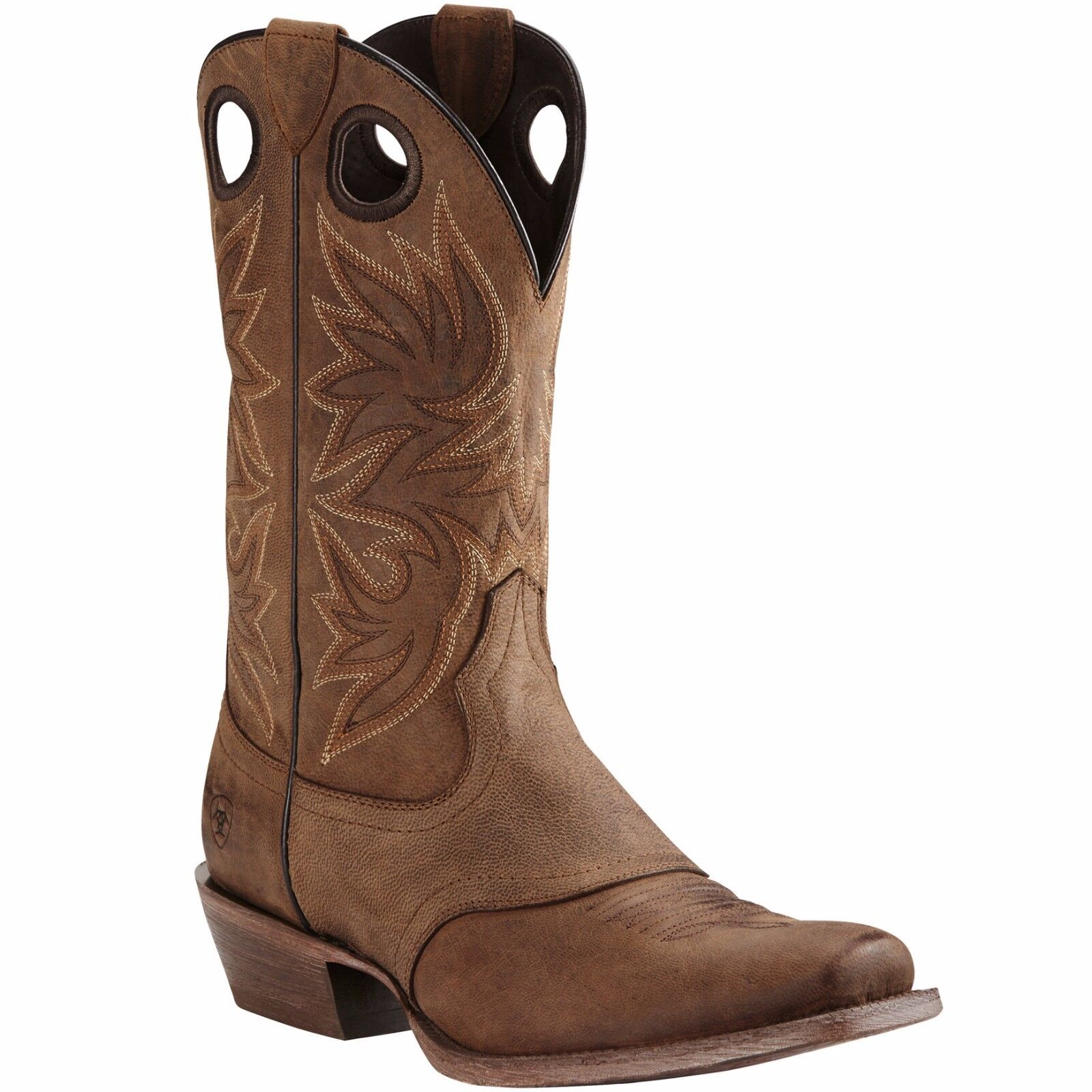 Ariat® Circuit Striker Weatherot braun Square Toe Toe Toe Cowboy Stiefel 10019974 ae6e90