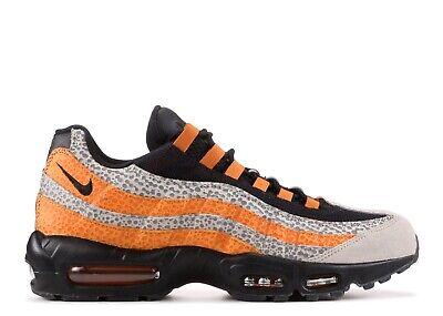 """Nike Air Max 95 SE /""""SAFARI/"""" EUR44 US10 Sneaker Grau Orange AR4592 001"""