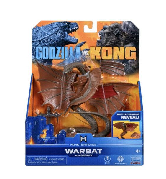 Monsterverse Godzilla vs Kong Warbat Hollow Earth Battle Damaged Figure