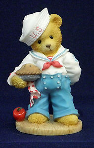 Cherished-Teddies-Bob-U-S-A-034-Our-Friendship-is-from-Sea-to-Shining-Sea-034