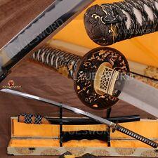 JAPANESE SAMURAI SWORD KATANA CLASSICAL POLISHING CLAY TEMPERED BLADE RazorSharp
