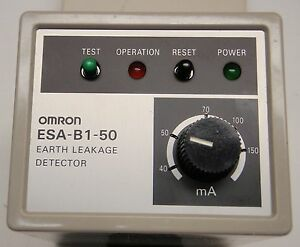 Details about OMRON ESA-50 Earth Leakage Detector New-in-box Pn: ANC0161