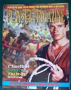 Playset-Magazine-43-Charlton-Heston-Tribute-Ben-Hur-playset-Wagon-Train
