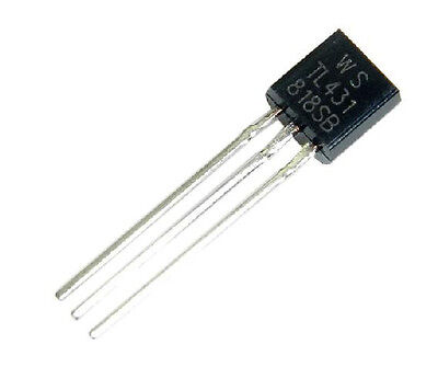 100Pcs TL431ACL TL431 Precision Shunt Regulator To-92