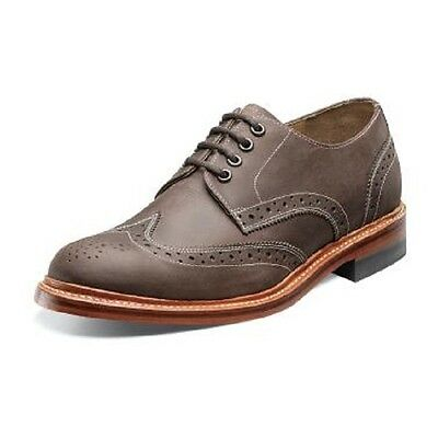 Men/'s Stacy Adams Shoes Madison Oxford Wing Tip Classic Black Leather 00061-001