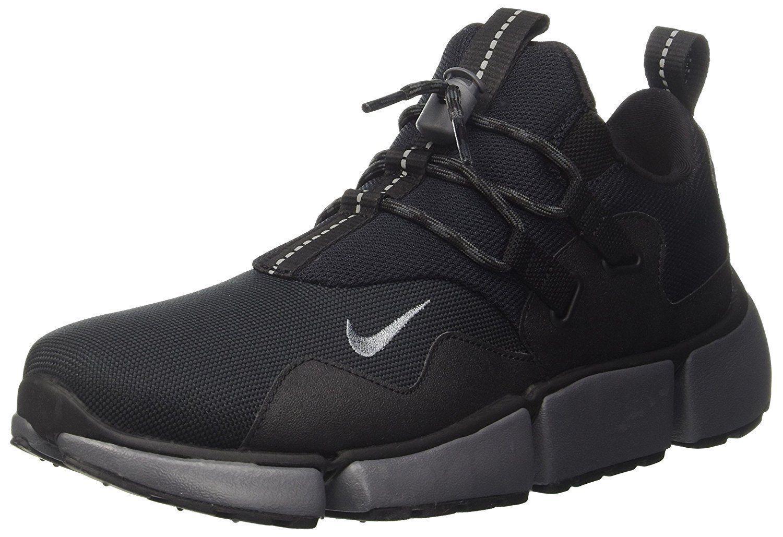 Nike Pocketknife DM Men's Size 9 Running shoes Black   Grey 898033 033 NEW