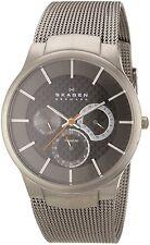 Skagen Men's 809XLTTM Multi-Function Grey Titanium Watch