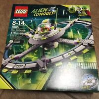 Lego Alien Conquest 7065 Alien Mothership Sealed 2011 Retired