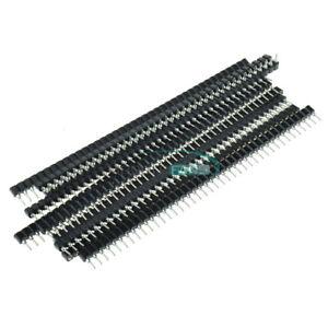 20PCS-40Pin-2-54mm-Single-Row-Round-Female-Pin-Header-Socket-gold-plated