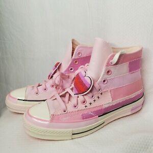 Nib Converse X Millie Bobby Brown Petal Pink 70 Hi 167298c Men S 9 Women S 11 Ebay