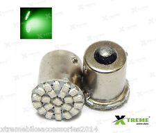 2pcs 22 smd Green LED Turn Indicator For TVS Flame SR125