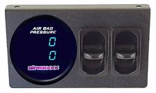 Air Gauge Dual Digital 200psi Display Panel Two Paddle Switches Air Suspension