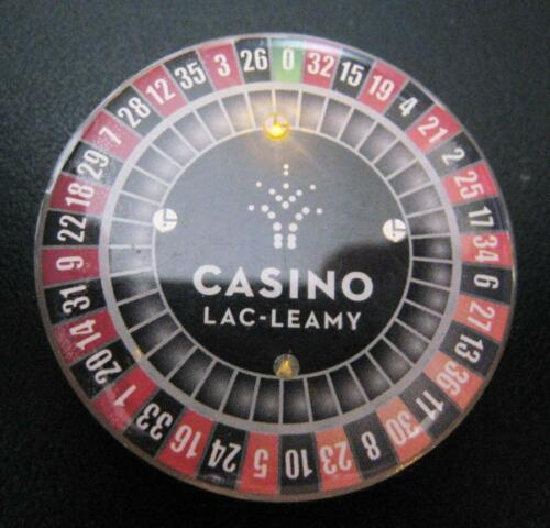 CASINO LAC-LEAMY OFFICIAL FLASHING PIN NEW SEALLED