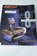 Marvel Series 8 Mark Ii Band Saw Parts Manual