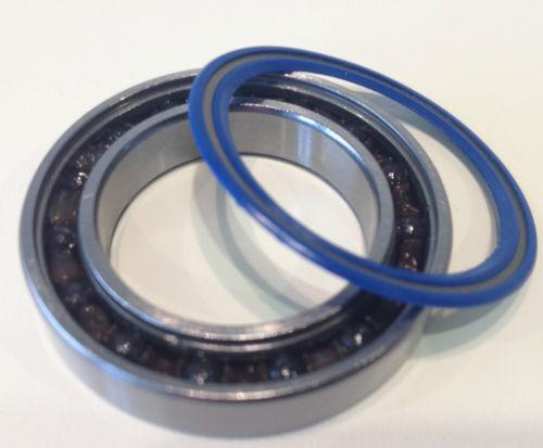 SRAM Rise 60 Front Rear Wheel Hub Bearing Kits Chrome //Stainless //Ceramic
