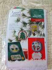 NEW ANNIE'S CREATIVE WOMAN KIT-OF-THE-MONTH Trim-a-Tree Holiday Cards