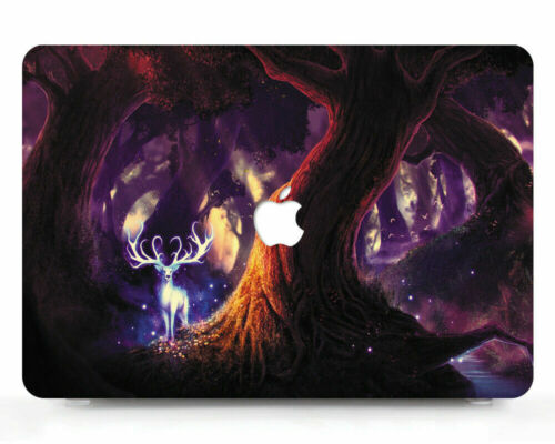"""Rubberized Hard Case Shell Keyboard Cover Macbook Air Pro 11 12 13 15/"""" inch MF"""