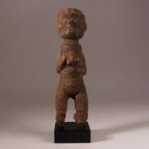 9677-Lobi-bateba-Phuwe-Altar-figur-Holzsockel-inclusive