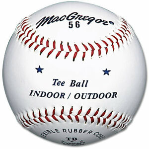 MacGregor® #56 Official Indoor/Outdoor Tee Balls (12 pack)