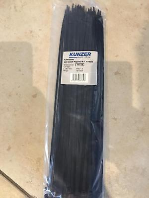 100mm 2.5mm 100x COLLIER DE SERRAGE PLASTIQUE TYPE RISLAN COLSON 100 x 2.5 mm
