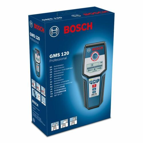 Bosch Professional Stud Finder GMS 120 max. profondeur de détection Bois//Magnétique