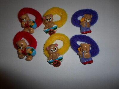 Packung 3 X Eule Motiv Haargummis für Party Tasche Preise Geschenke Geschenke