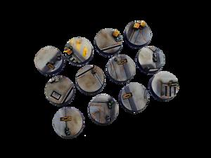 Round 25 mm 5 MICRO ART Studios Entièrement neuf dans sa boîte Terminus bases B05021